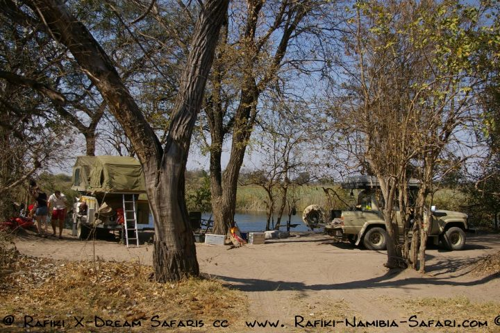 Camp am Kwando - Namibia