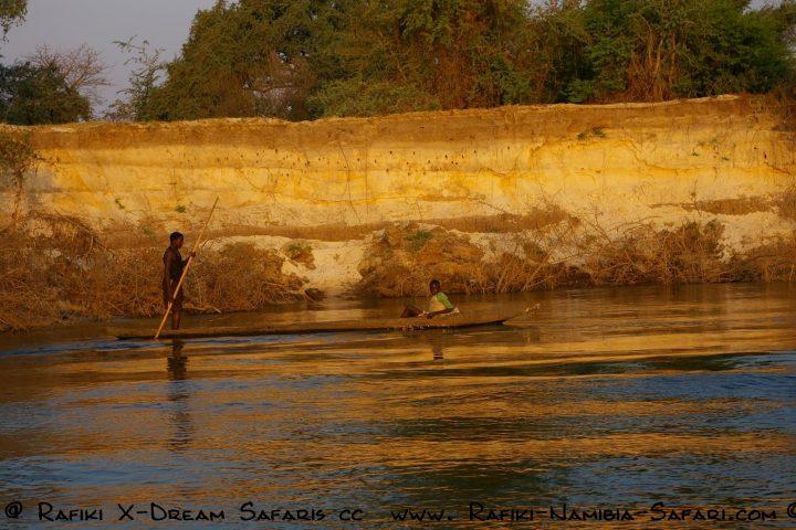 am Kavango - Grenze zu Angola