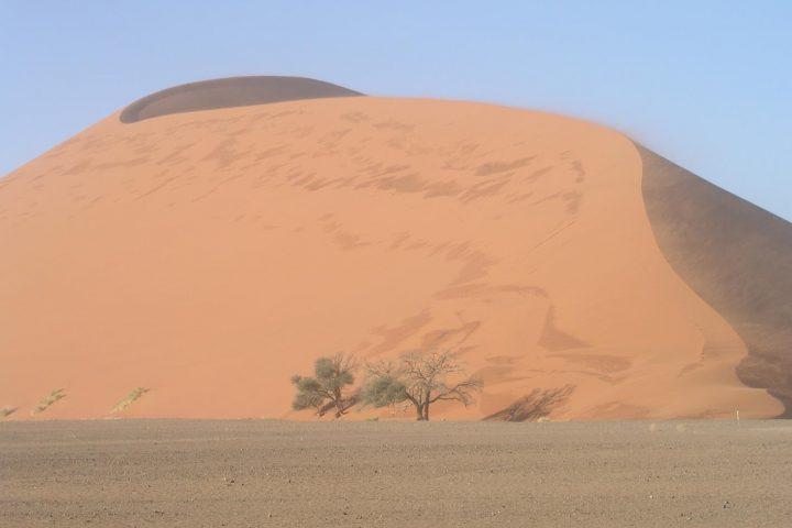die höchsten Dünen der Welt im Sossusvlei - Namibia