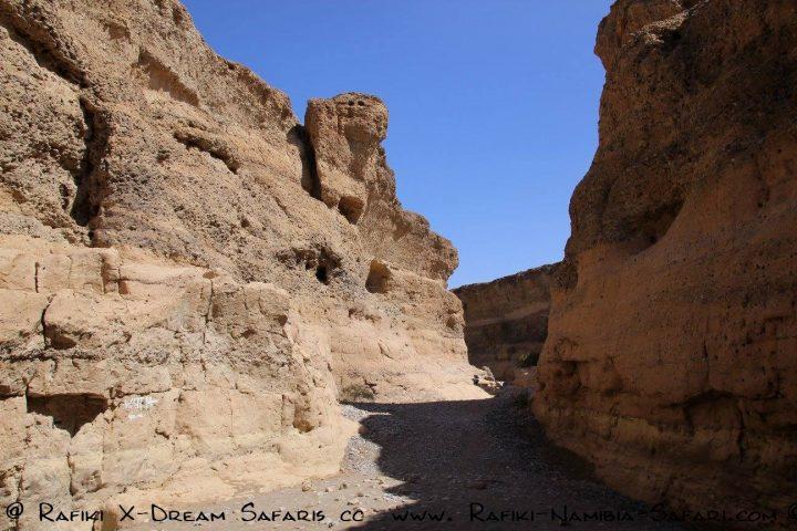 der Tsauchab Canyon bei Sossuvlei im Namib Naukluft Park