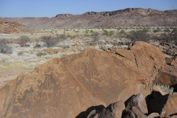 Felsgravuren und Malereien in Twyfelfontein