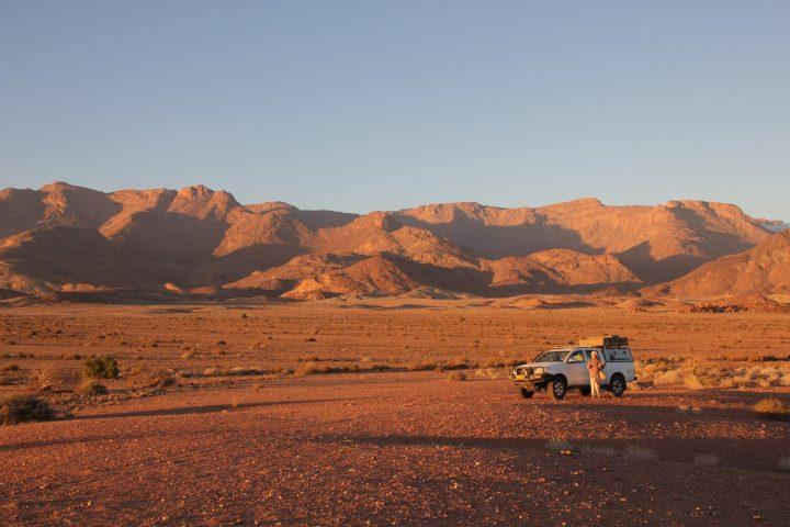 Abendstimmung im Damaraland - Namibia