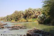 Camp in Epupa an den Wasserfälle