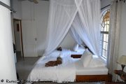 Chalet der Mobola Lodge am Kavango - Namibia