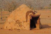 Himba Hütte im Kaokoveld