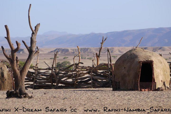 Himba Kral im Kaokoveld - Namibia