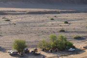 Buschcamp in der Einsamkeit des Kaokoveldes