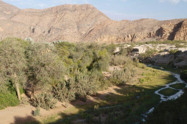 Blick auf die Khowarib Schlucht