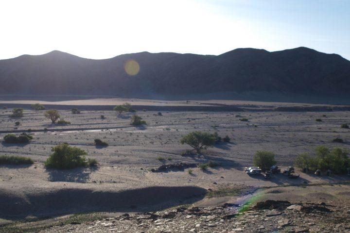 Landschaftsimpressionen vom Kaokoveld