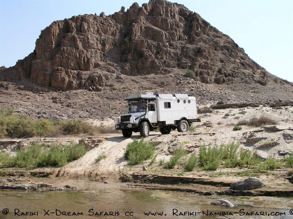 Magirus Truck im Kaokoveld - Namibia