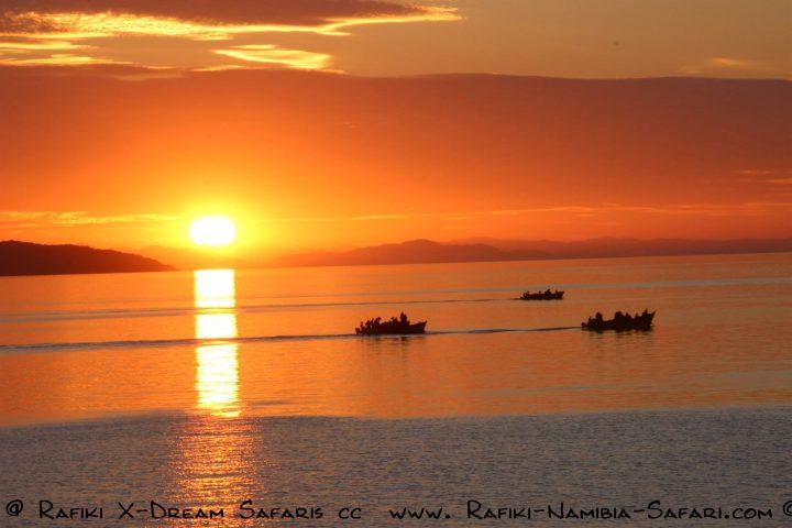 Abendstimmung am Malawi See