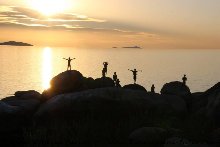 Abendstimmung am Malawisee - Malawi
