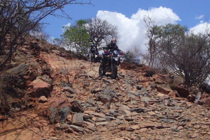 Motorräder am Van Zyls Pass