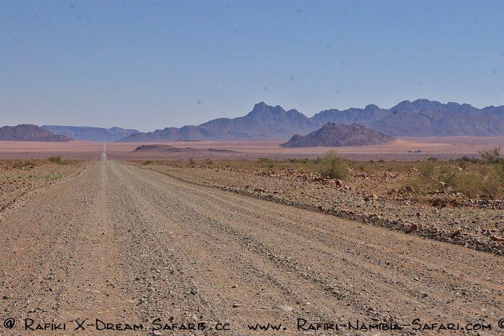einsame Landschaft im Süden Namibias
