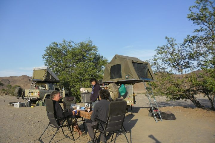 Buschcamp im Kaokoveld