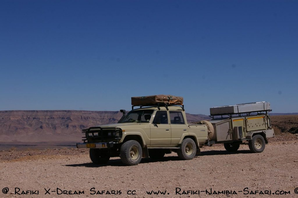 Rafiki X-Dream Safaris am Fish River Canyon