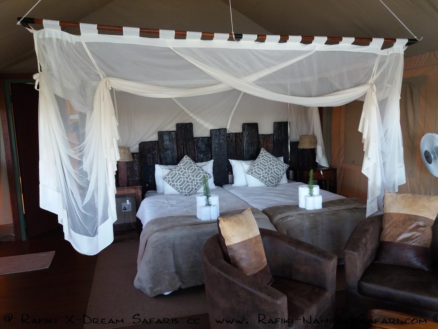 Tented Camp am Kavango - Namibia