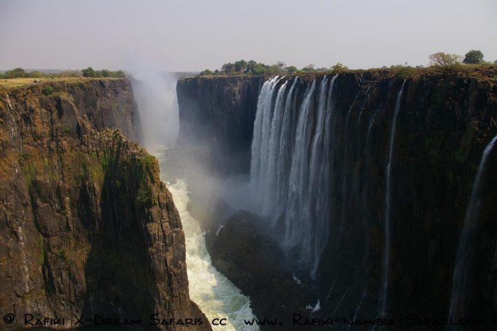 Die gigantischen Victoriawasserfälle - Sambia