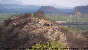 einsames Camp im Ugabtal