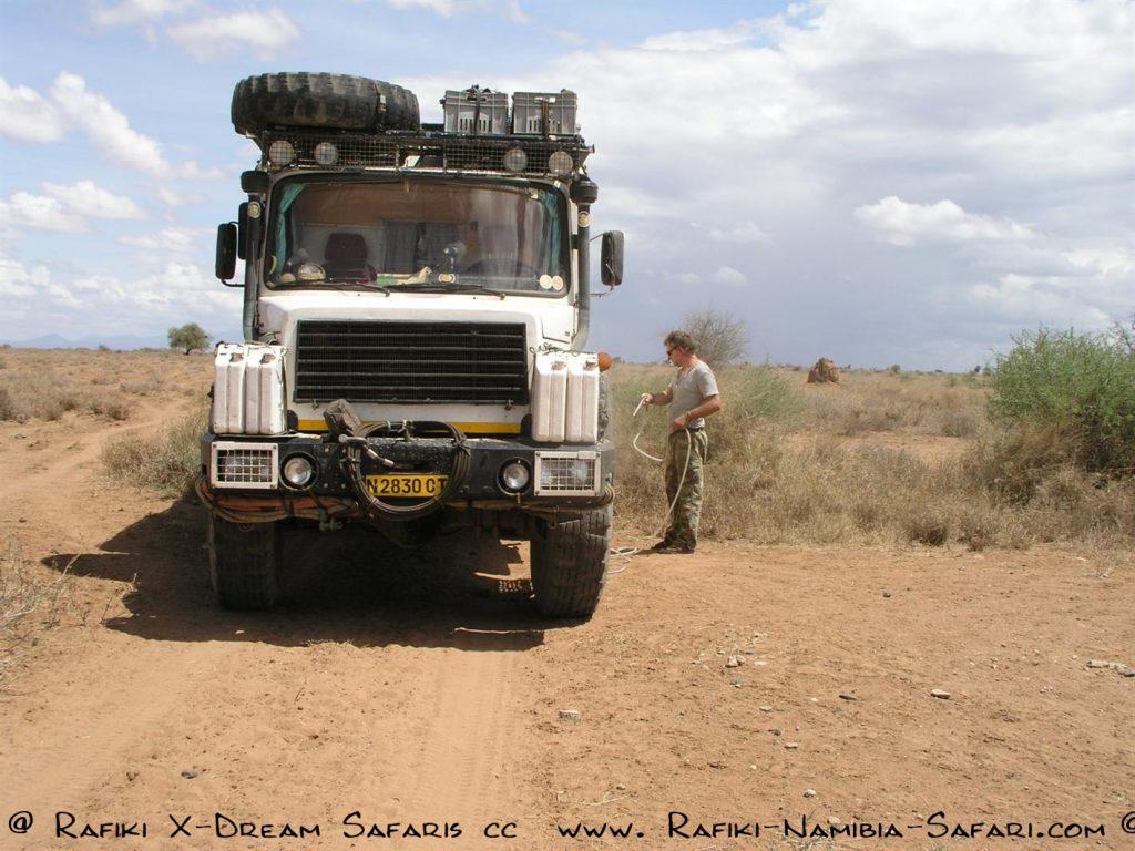Mit dem Magirus auf dem Weg nach Kenia