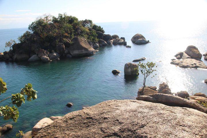 Blick auf den Lake Malawi Nationalpark
