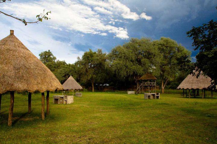Campsite am South Luangwa Park