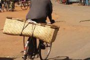 Fahrrad mit Transportkorb