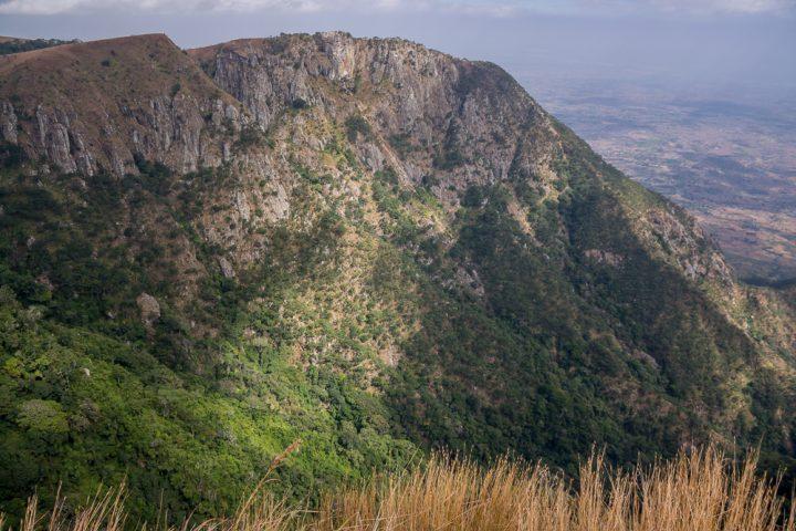 Aussicht vom Zomba Plateau