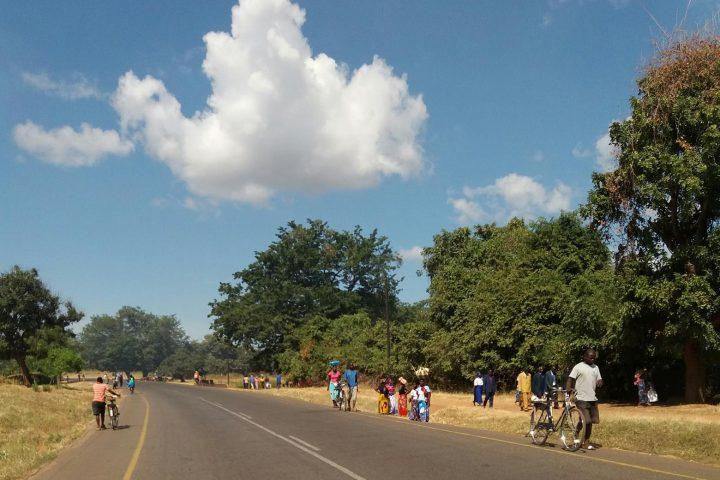 Strassentreiben in Malawi