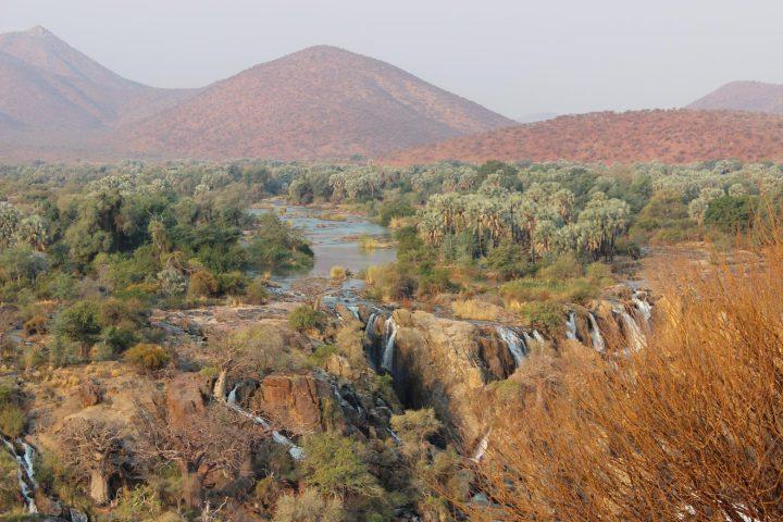 ein Blick auf die Epupa Wasserfälle