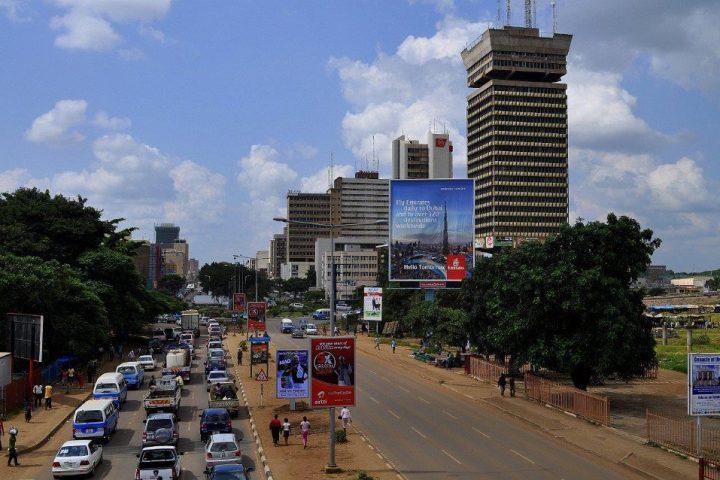 Lusaka die Hauptstadt Sambias